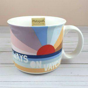 Pfaltzgraff Coffee Mug Cup Always On Vaycay Sun